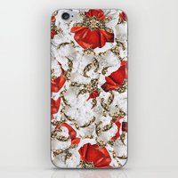 roman iPhone & iPod Skins featuring Roman Collage by Eleaxart