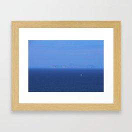 Santorini, Greece 13 Framed Art Print