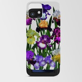 Iris garden iPhone Card Case