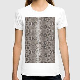 Python Snakeskin Print T-shirt