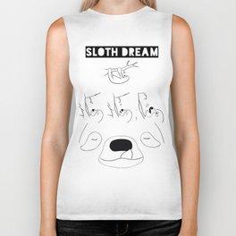 A Sloth Dream 2 Biker Tank