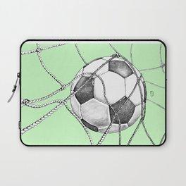 Goal in green Laptop Sleeve