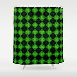 🍀 luck 🍀 Shower Curtain