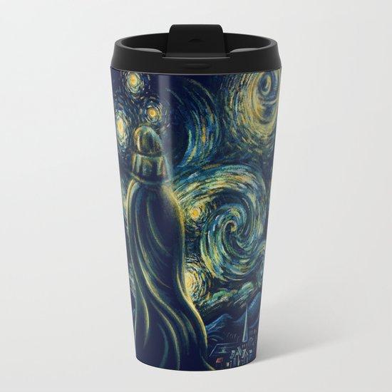 Death Starry Night Travel Mug