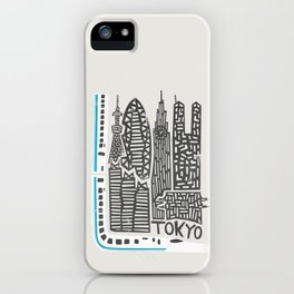 Tokyo Cityscape iPhone Case