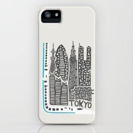 Tokyo Cityscape iPhone Case