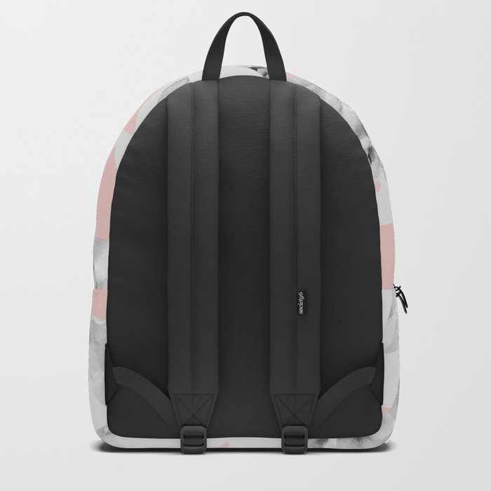 Pink Triangles Backpack
