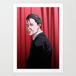 How's Annie? (Agent Cooper - Twin Peaks) Art Print