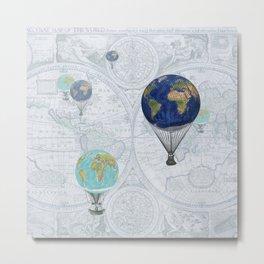 World Flight Metal Print