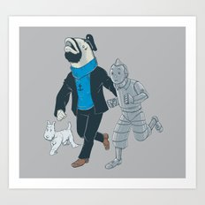 The Literal Adventures of... Art Print