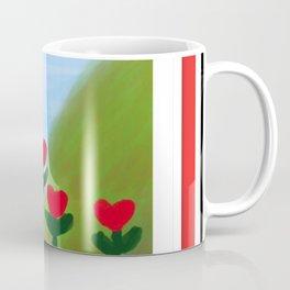 Hearts from a Rose Coffee Mug