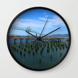 Megler Bridge -  Astoria Wall Clock