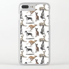 The Whippet Clear iPhone Case