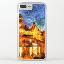 Cathedral of the Holy Trinity or Hofkirche Clear iPhone Case