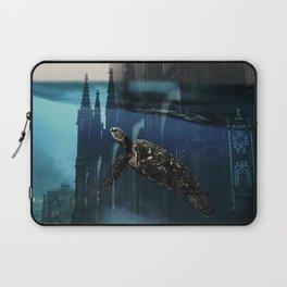 City under water Laptop Sleeve