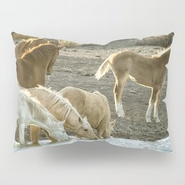 Quenching Their Thirst Pillow Sham