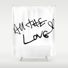 One Direction Shower Curtains