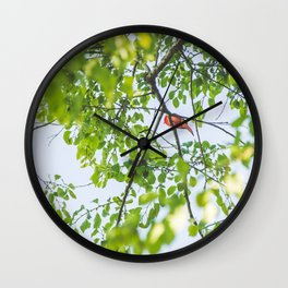 Song from Above Wall Clock