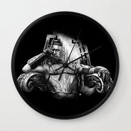 king Riddick Black Bg Wall Clock