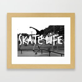 Skate Life Framed Art Print