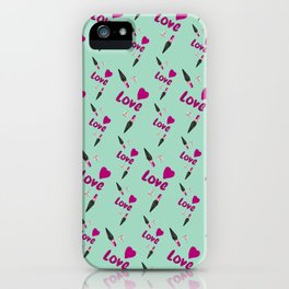 Love Lipstick iPhone Case