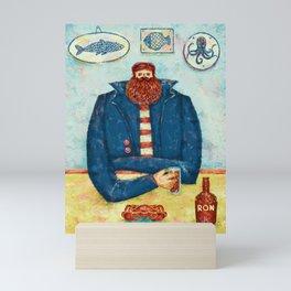 THE CAPTAIN'S BREAKFAST Mini Art Print