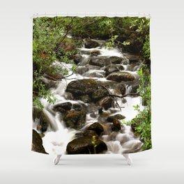 Mountain Creek - Summer Scene Shower Curtain
