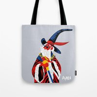 merlin Tote Bags featuring Merlin by Julien renault