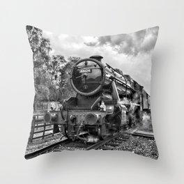 48624 Stanier - mono Throw Pillow