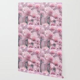 Allium pink 0146 Wallpaper