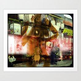 Culture Clash #4 Art Print