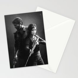 The Last of Us - Joel & Ellie Stationery Cards