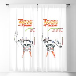 Back to the Future Blackout Curtain