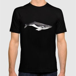 Humpback whale for whale lovers T-shirt