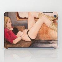 lolita iPad Cases featuring Lolita by aurora villaviejas