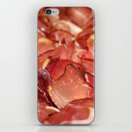 Fresh Black Forest ham bacon food pattern for the meat lovers iPhone Skin
