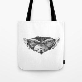 Mr. Monkey Robert Tote Bag