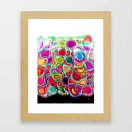 Slipping & Sliding - Joyful Pattern #society6 #lifestyle Framed Art Print