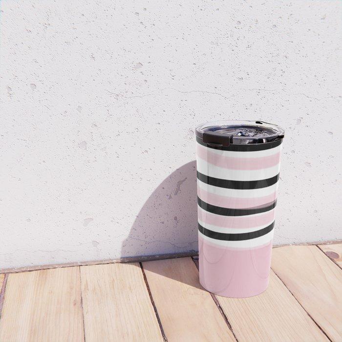 Color Block Travel Mug