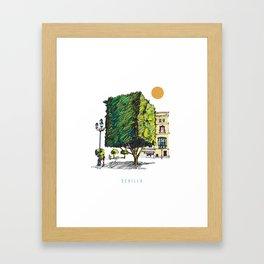 Sevilla 2 Framed Art Print