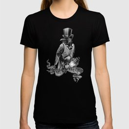 Nevermore. The Crow by E. A. Poe T-shirt
