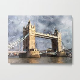London, Tower Bridge  Metal Print