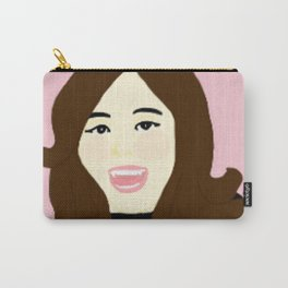 Knock Knock! Tzuyu Pink Carry-All Pouch