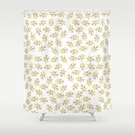 Sedirea japonica orchid pattern Shower Curtain