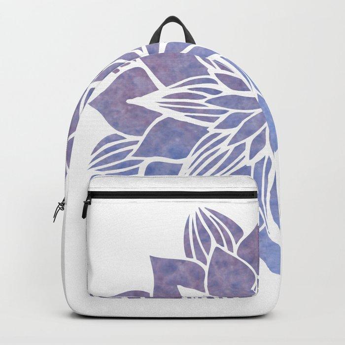 Lilac Mandala Backpack