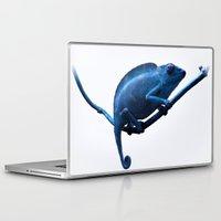 chameleon Laptop & iPad Skins featuring Chameleon by DistinctyDesign