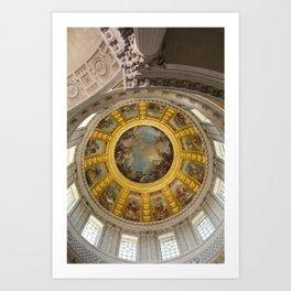 Above Napoleon Bonaparte - Look Up Series Art Print
