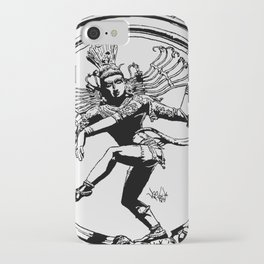 Natraj Dance - Mono iPhone Case