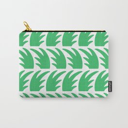 Tropical Wave Pattern Green Carry-All Pouch