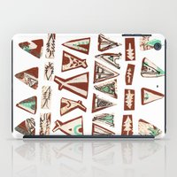pee wee iPad Cases featuring Tee-Pee by Colette Reders
